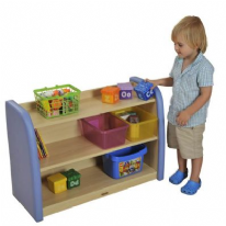 Safespace Toddler 2 Level Storage Cabinet